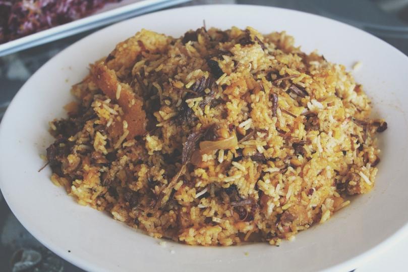Persian Lunch: Gaymeh Pollo