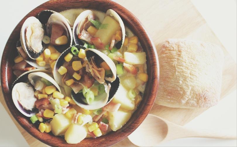 Clam Corn Chowder