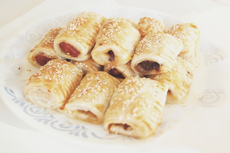 Mexican Chorizo & Caramelised Onion Sausage Rolls