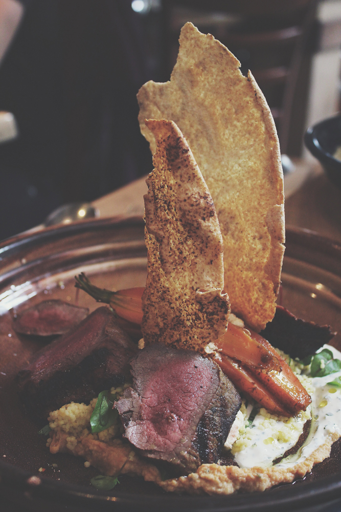 Bar Indigo - FROM THE GARDEN: Grilled Lamb Salad