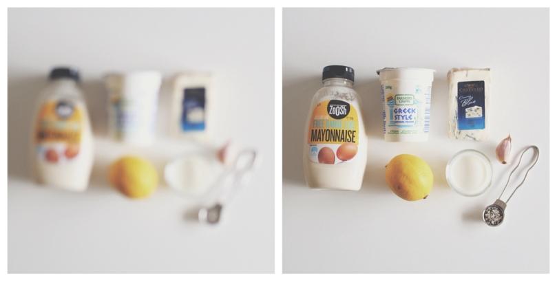 Blue Cheese-Yoghurt Dip Ingredients
