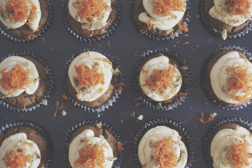 Breakfast Muffins: Spiced Carrot