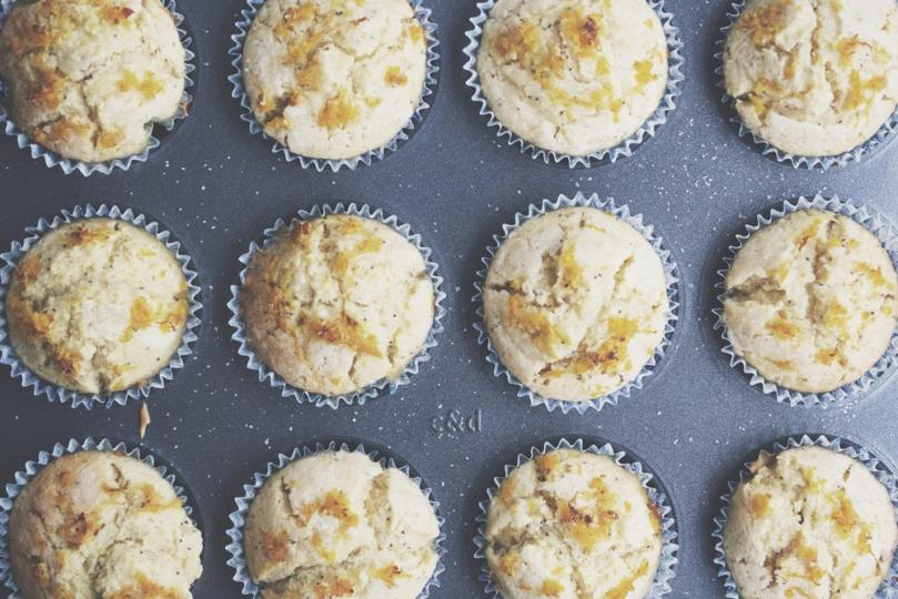 Breakfast Muffins: Citrus Poppyseed