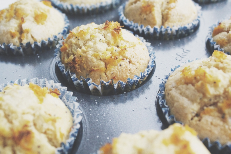 Breakfast Muffins: Citrus Poppyseed