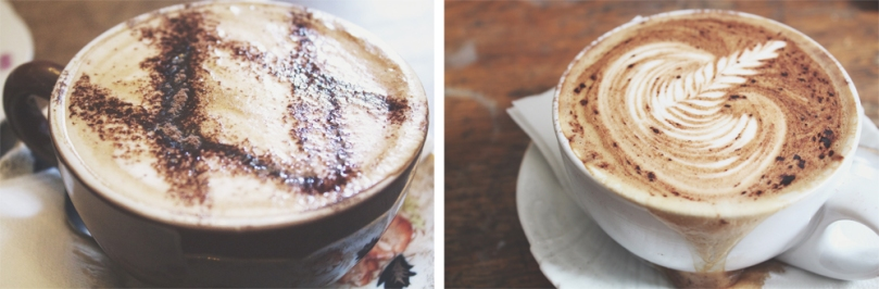 Ampersand Café & Bookstore - HOT DRINKS: CAPPUCCINO