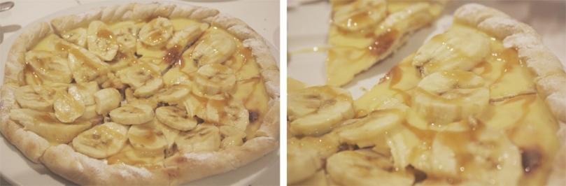 Pastabella - DOLCI (DESSERTS): PIZZA ALLA BANANA