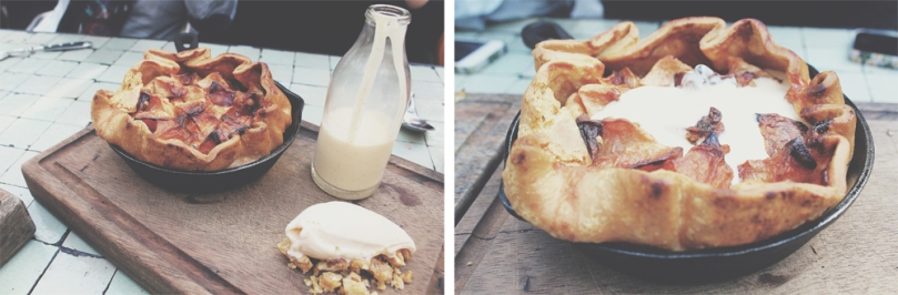 The Potting Shed at the Grounds - DESSERTS: BAKED APPLE PIE (for 2 people)