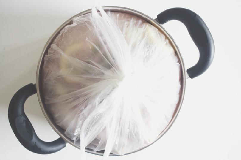 Lemon & Thyme Roast Chicken Brining Process