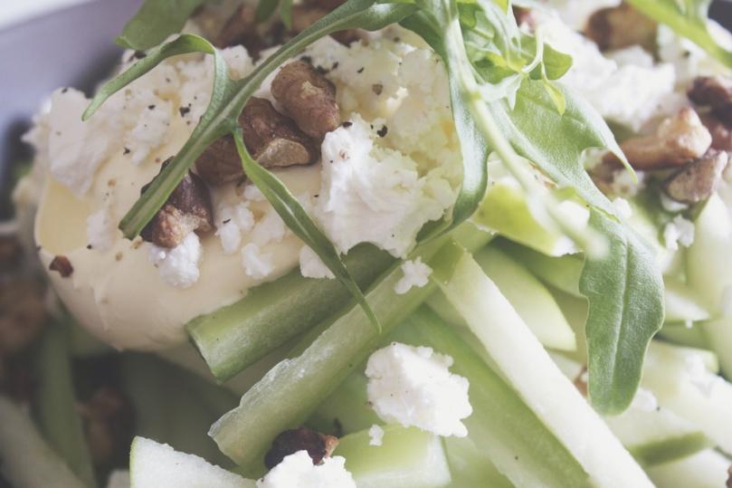 Celery & Green Apple Slaw