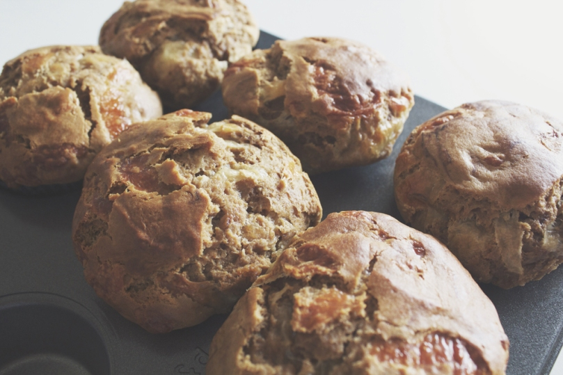 Breakfast Muffins: Vegemite & Cheese