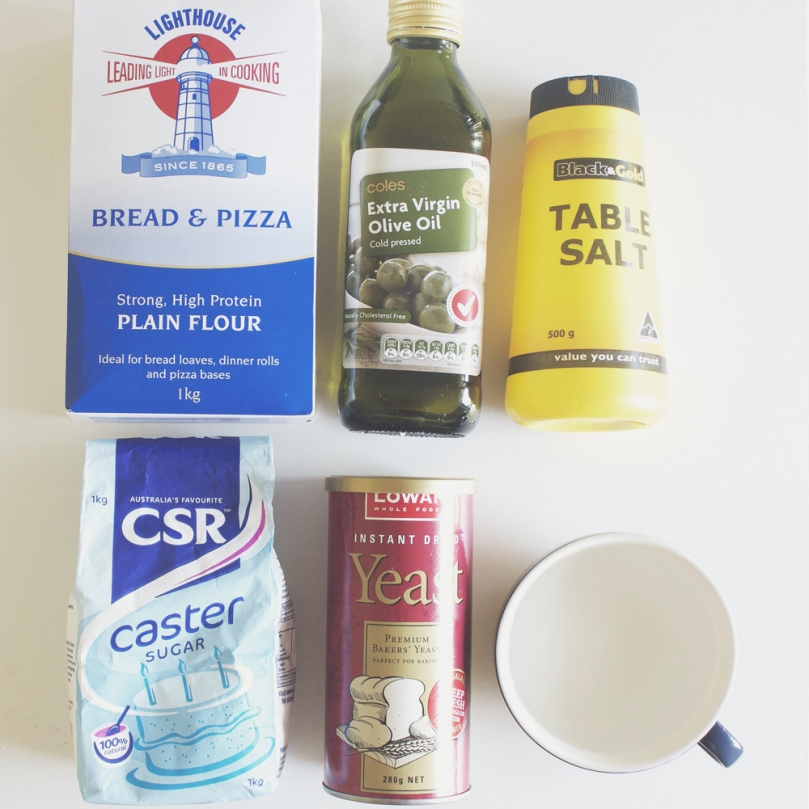 Classic New York Style Pizza Dough Ingredients