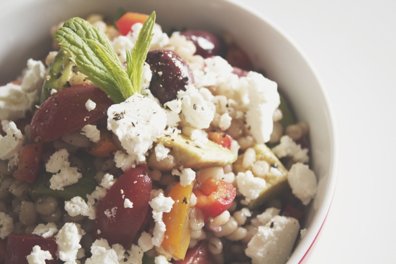 Greek-inspired Barley Salad
