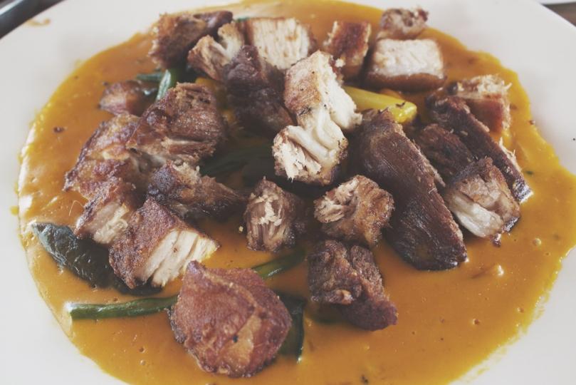 BR Nina's Itikan & Restaurant - BR NINA'S FIESTA: Crispy Kare-Kare Liempo