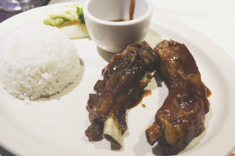 Arabela, Camello's Bakehaus & Coffee Shop - HOUSE SPECIALS (BABY BACK RIBS): BABY BACK PORK 2PCS