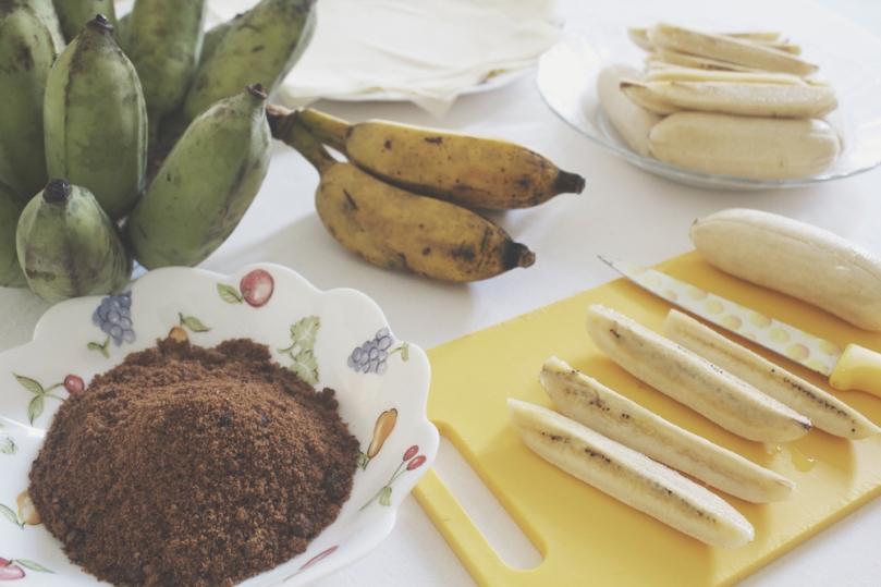 Turón Plátanos (Banana Spring Rolls)