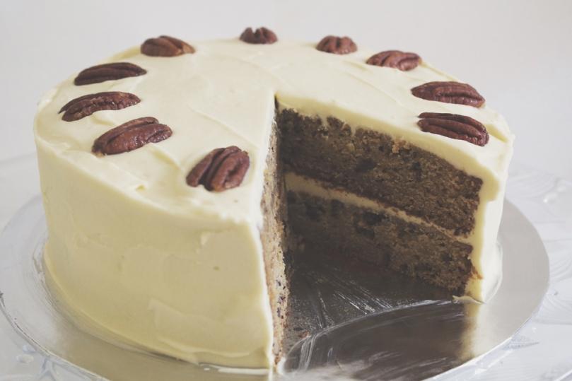 Vermont Maple-Pecan Cake