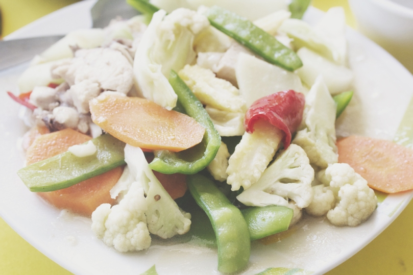 Kamayan sa Palaisdaan - VEGETABLES: Chopsuey Chicken