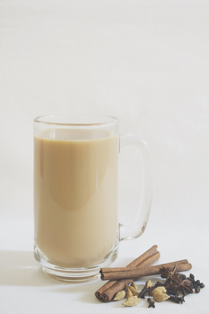 Masala Chai Tea with Soy Milk