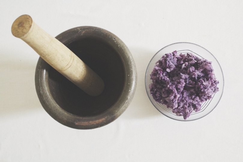 Ube Halaya (Purple Yam Jam) Process