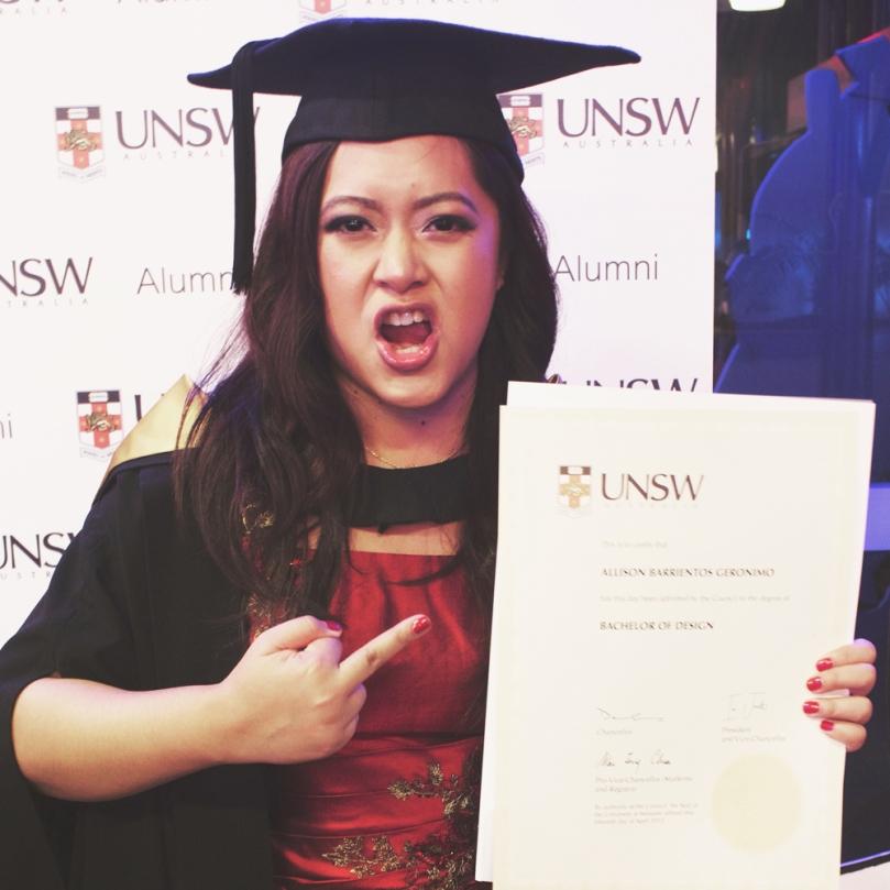 UNSW Graduation Day 2015