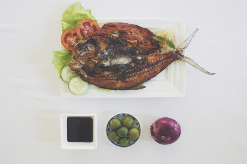 Pritong Bangús Steak (Fried Milkfish Steak) Ingredients