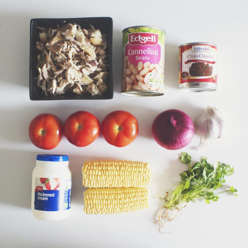 Hearty Chicken Chipotle Soup Ingredients