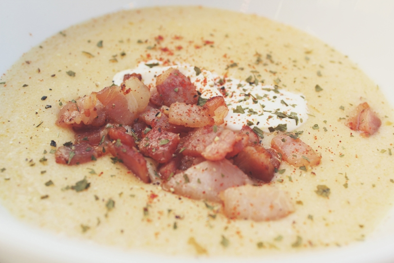 Bacon, Beer & Potato Soup