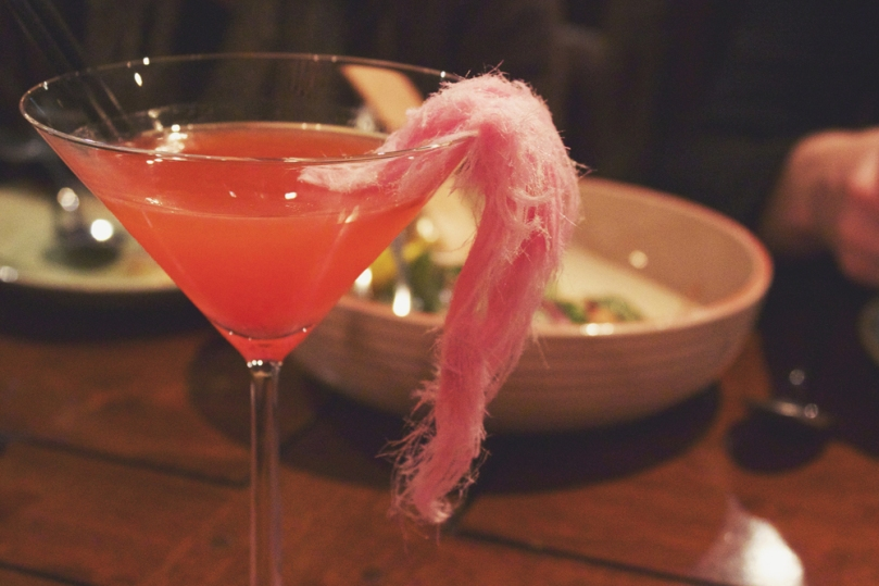In Asia Restaurant & Bar - COCKTAILS: SUGAR FLOSS MARTINI