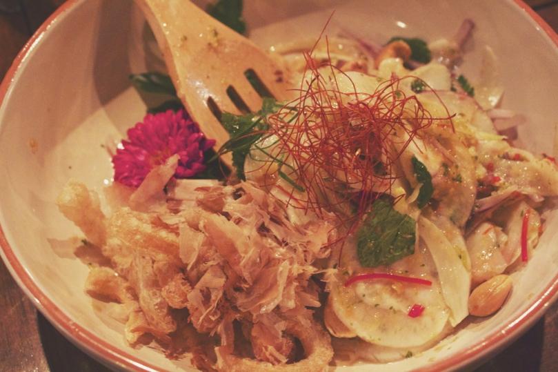 In Asia Restaurant & Bar - ENTRÉE: BARBECUED CALAMARI