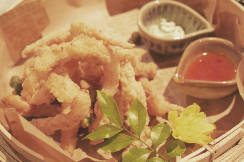 In Asia Restaurant & Bar - ENTRÉE: SEA SALT AND BLACK PEPPER CALAMARI