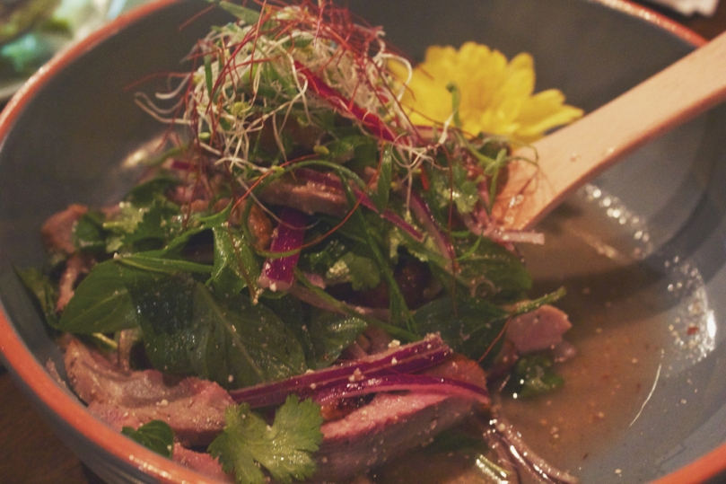 In Asia Restaurant & Bar - SALAD: TEA SMOKED DUCK BREAST