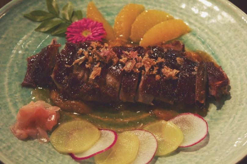 In Asia Restaurant & Bar - MAIN: CRISPY SKIN ROASTED DUCK