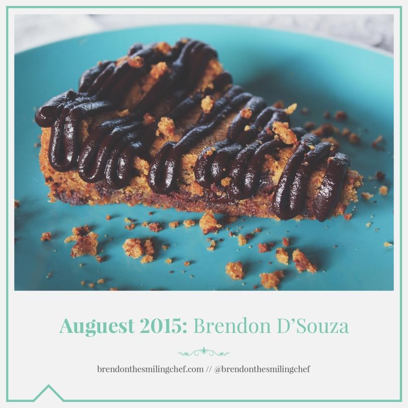 Auguest 2015: Brendon D'Souza