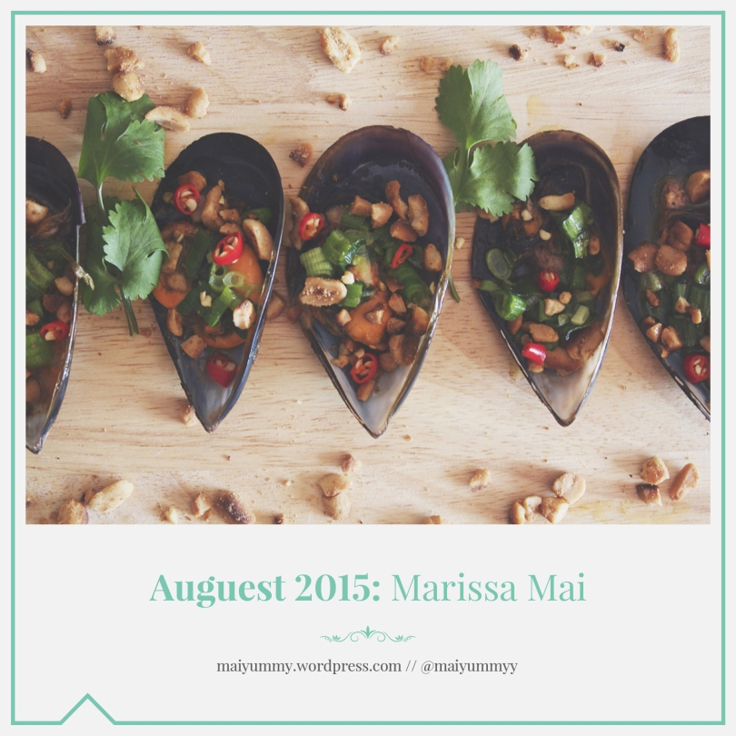 Auguest 2015: Marissa Mai