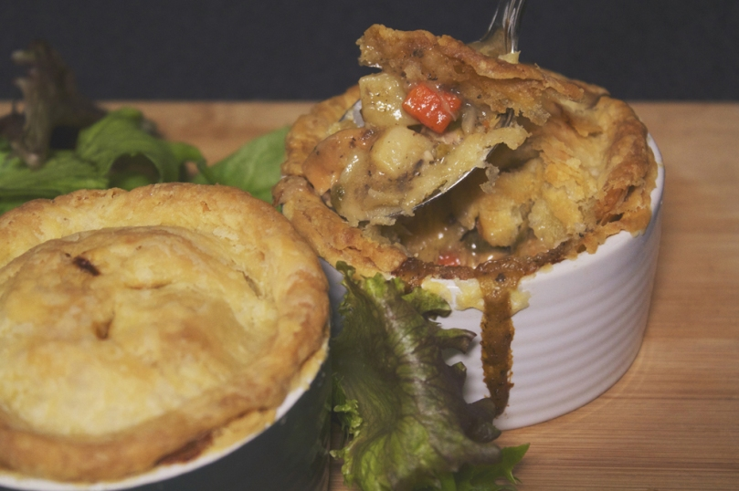 Chicken Pastel Mini Pot Pies