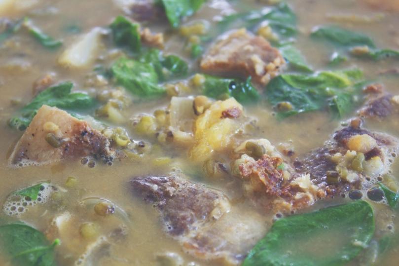 Munggo Guisado (Sautéed Mung Bean Soup)