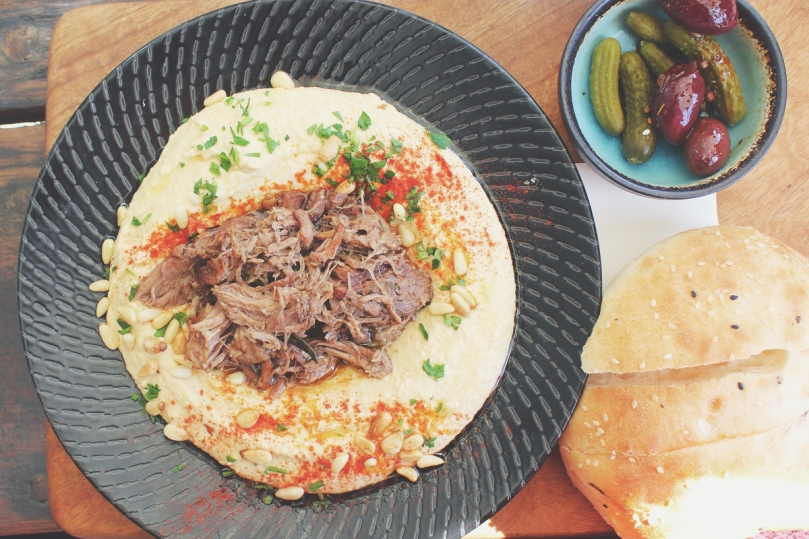 SHUK: Hummus & Lamb