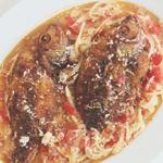 Sarciadong Tilapia (Tilapia Braised in Sautéed Tomatoes)