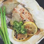 Lemon, Butter & Ginger Tilapia en Papillote