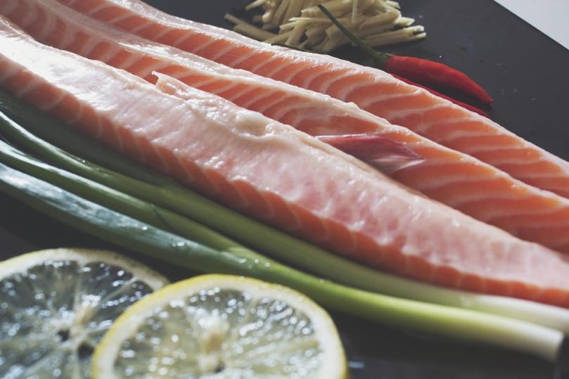 Pan-fried Salmon Bellies Ingredients