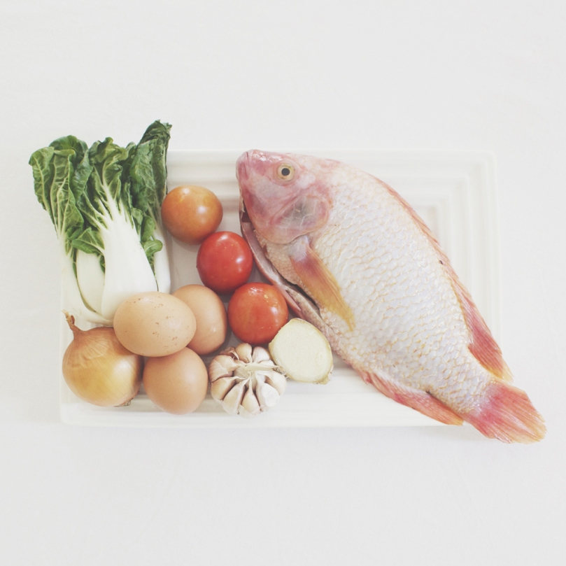 Pesang Tilapia (Tilapia in Ginger Stew) Ingredients