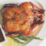 Chilli, Paprika, Tarragon, & Worcestershire Roast Chicken