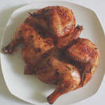 Butterflied Buffalo Roast Chicken