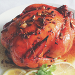 Barbequed Roast Chicken