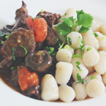 Bœuf Bourguignon with Potato Gnocchi