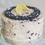 Lemon & Blueberry Layer Cake