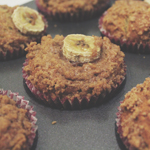 Banana & Cinnamon Crumb Top Muffins