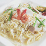 Singapore-style Hokkien Mee (Fried Yellow Noodle & Rice Vermicelli)