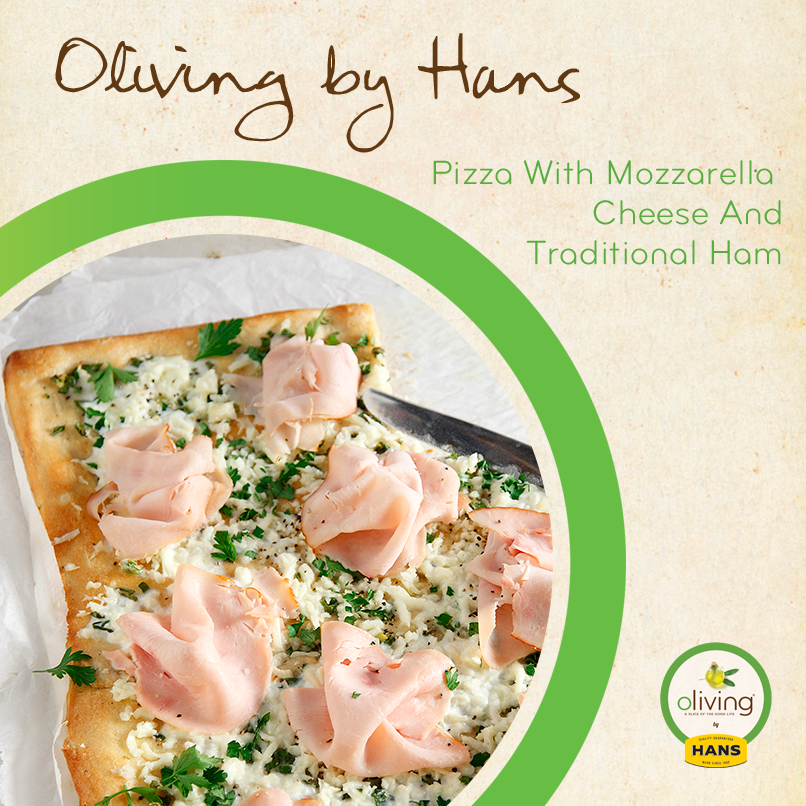 Oliving by Hans: Mozzarella Pizza