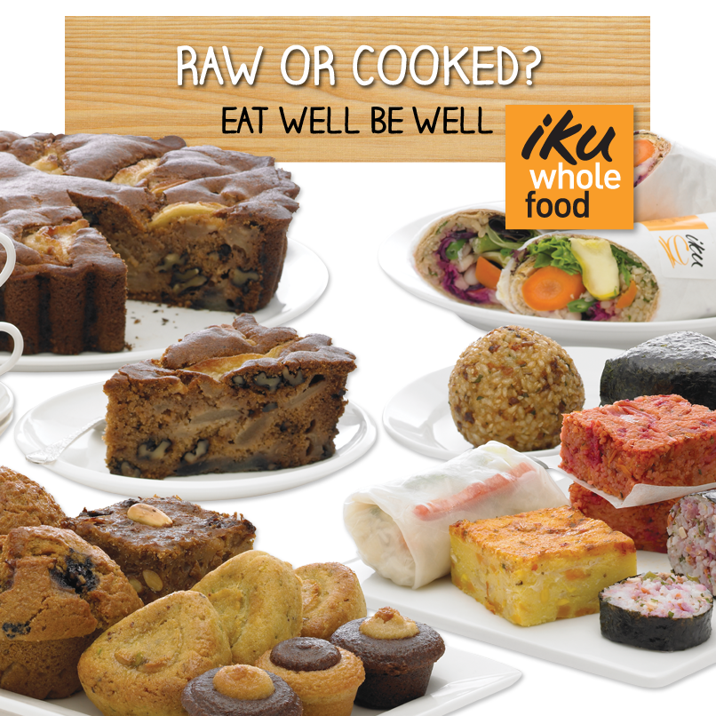 Iku Wholefood: Raw or Cooked?